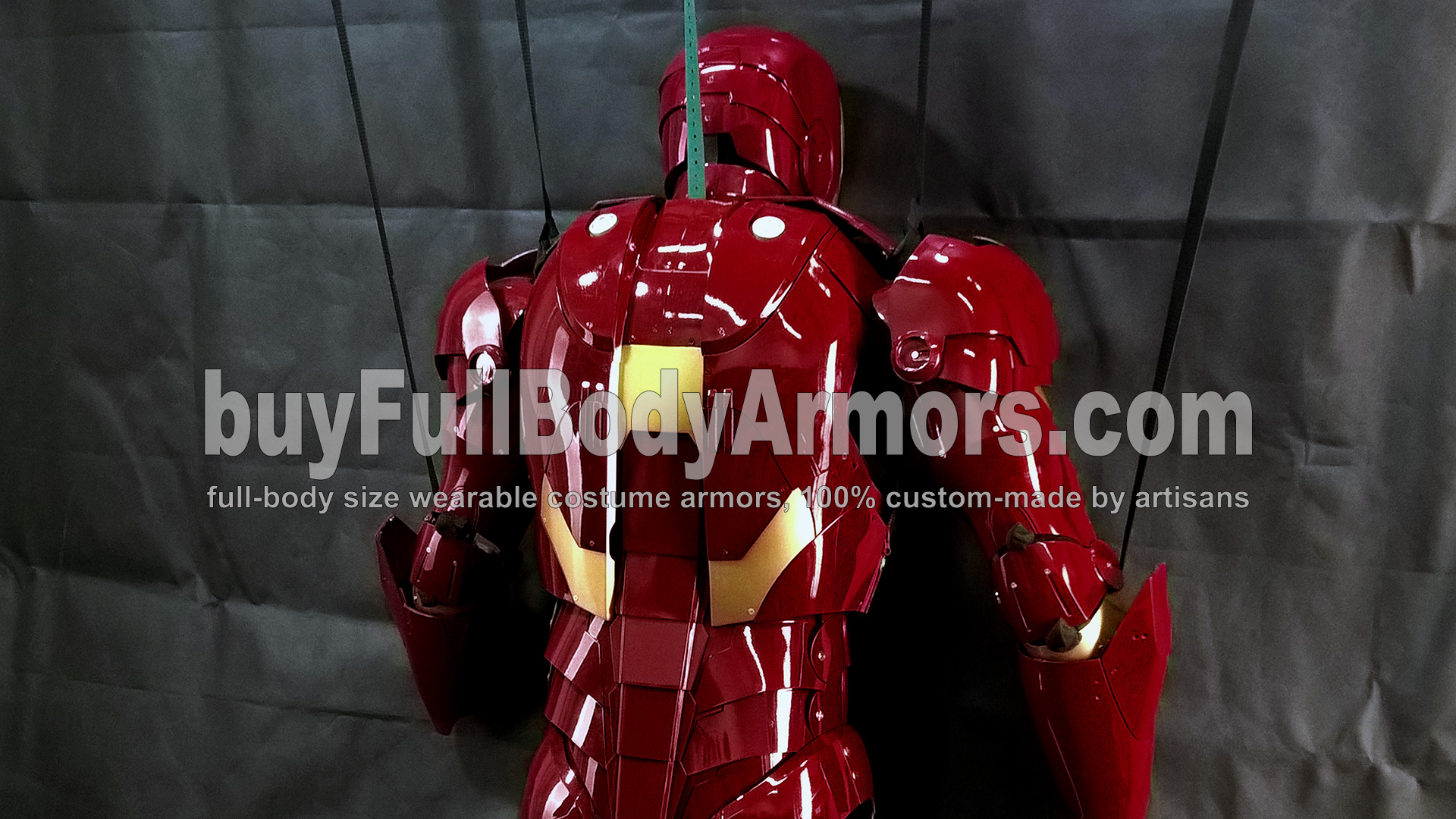 The Wearable Iron Man Suit Mark 3 III Armor Costume - Top Half Prototype 7