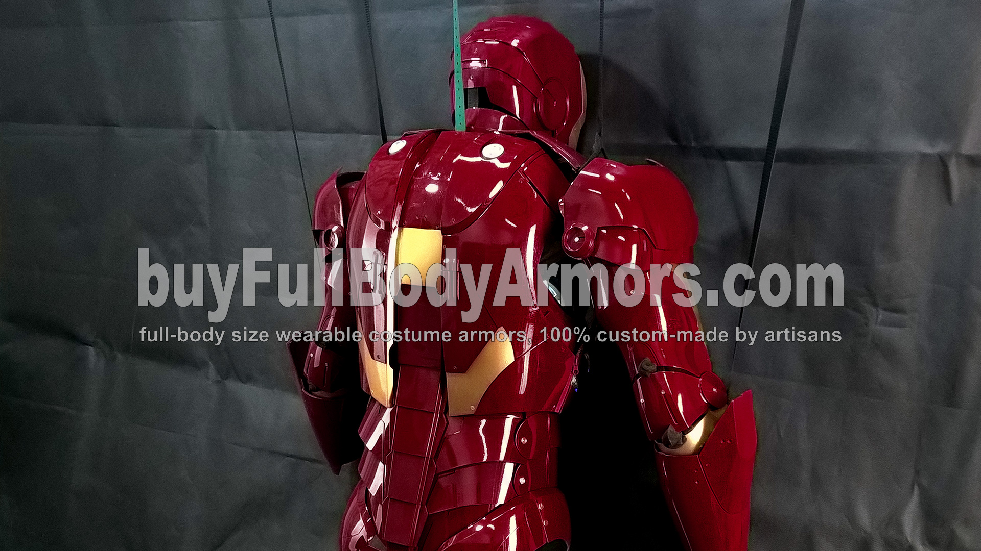 The Wearable Iron Man Suit Mark 3 III Armor Costume - Top Half Prototype 8