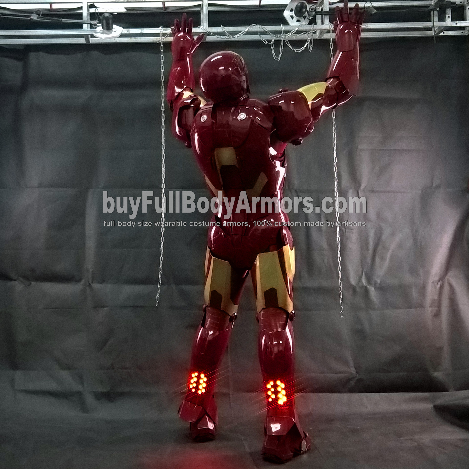 Wearing the Wearable Iron Man Suit Mark 3 III Armor Costume - Photos 1