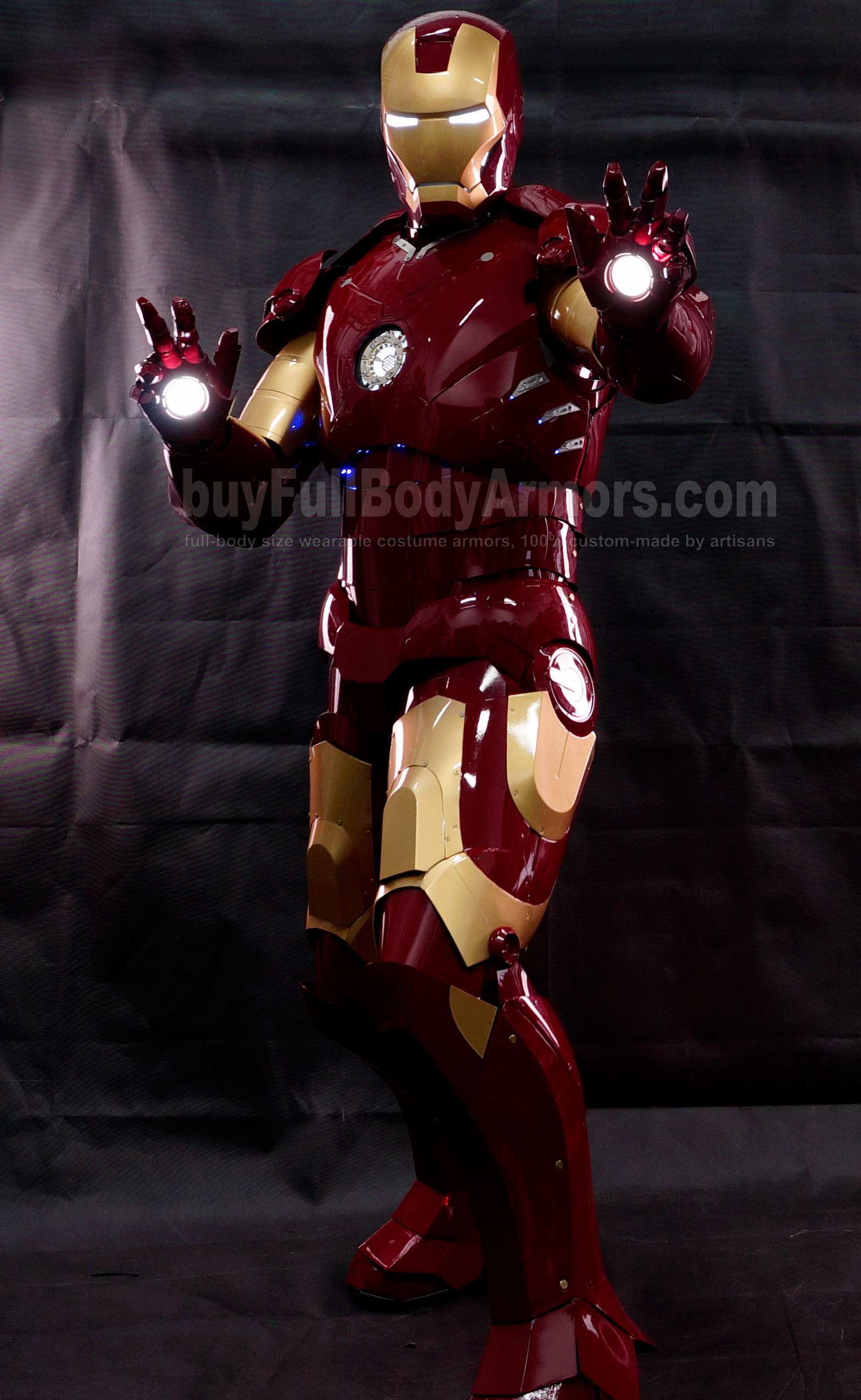 High Definition Photos of the Wearable Iron Man Mark 3 III Armor Costume Suit 0