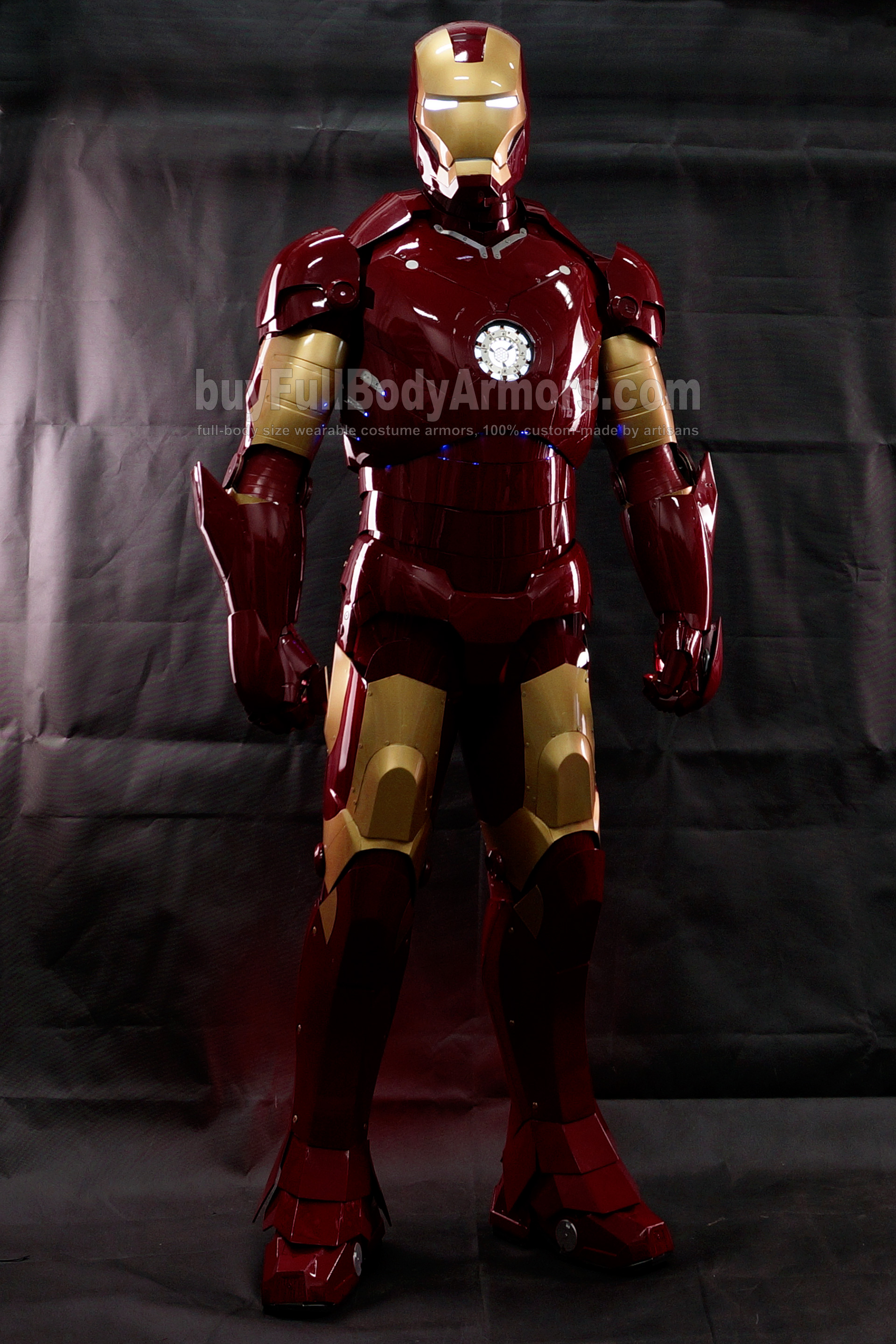 High Definition Photos of the Wearable Iron Man Mark 3 III Armor Costume Suit 2