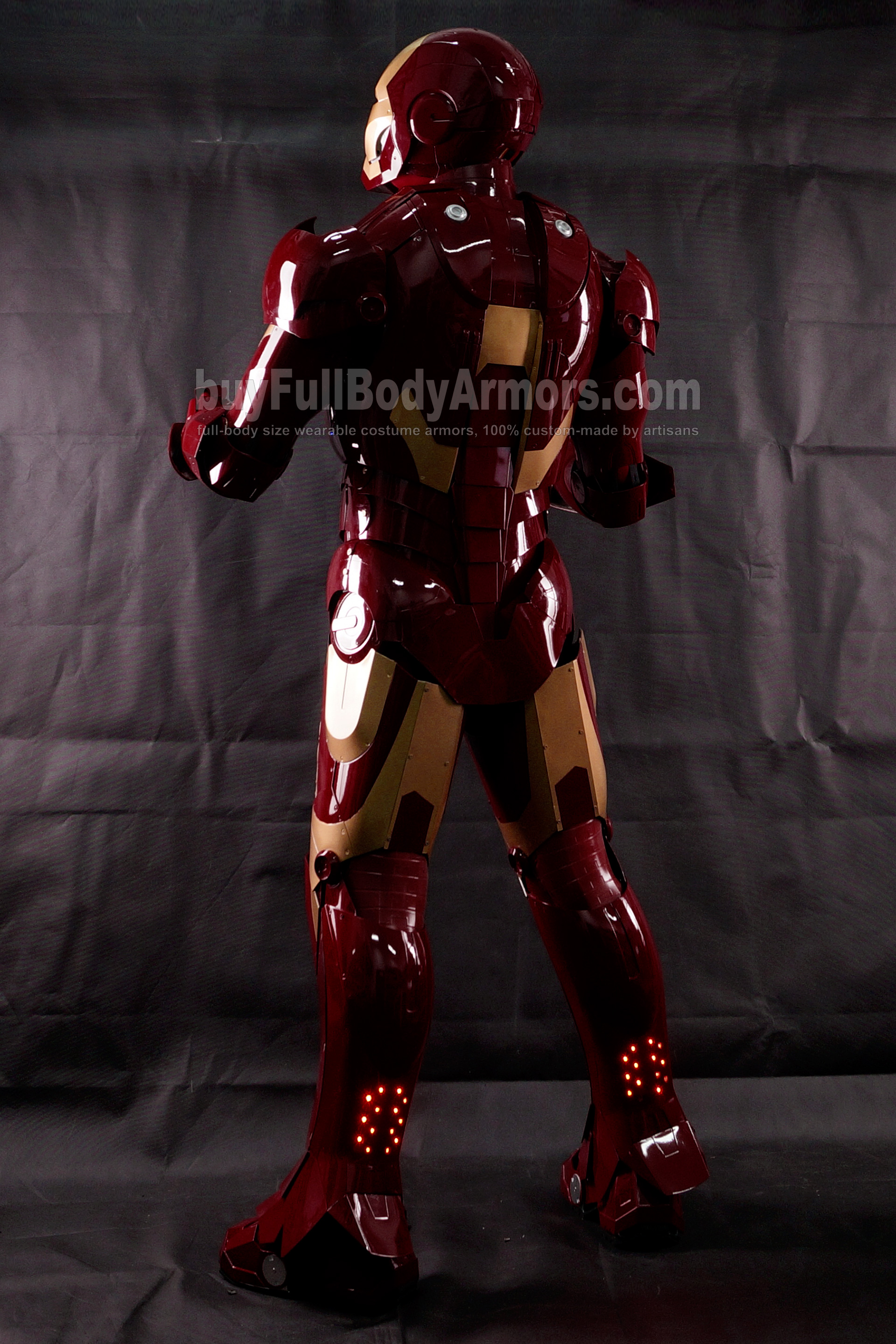 High Definition Photos of the Wearable Iron Man Mark 3 III Armor Costume Suit 3