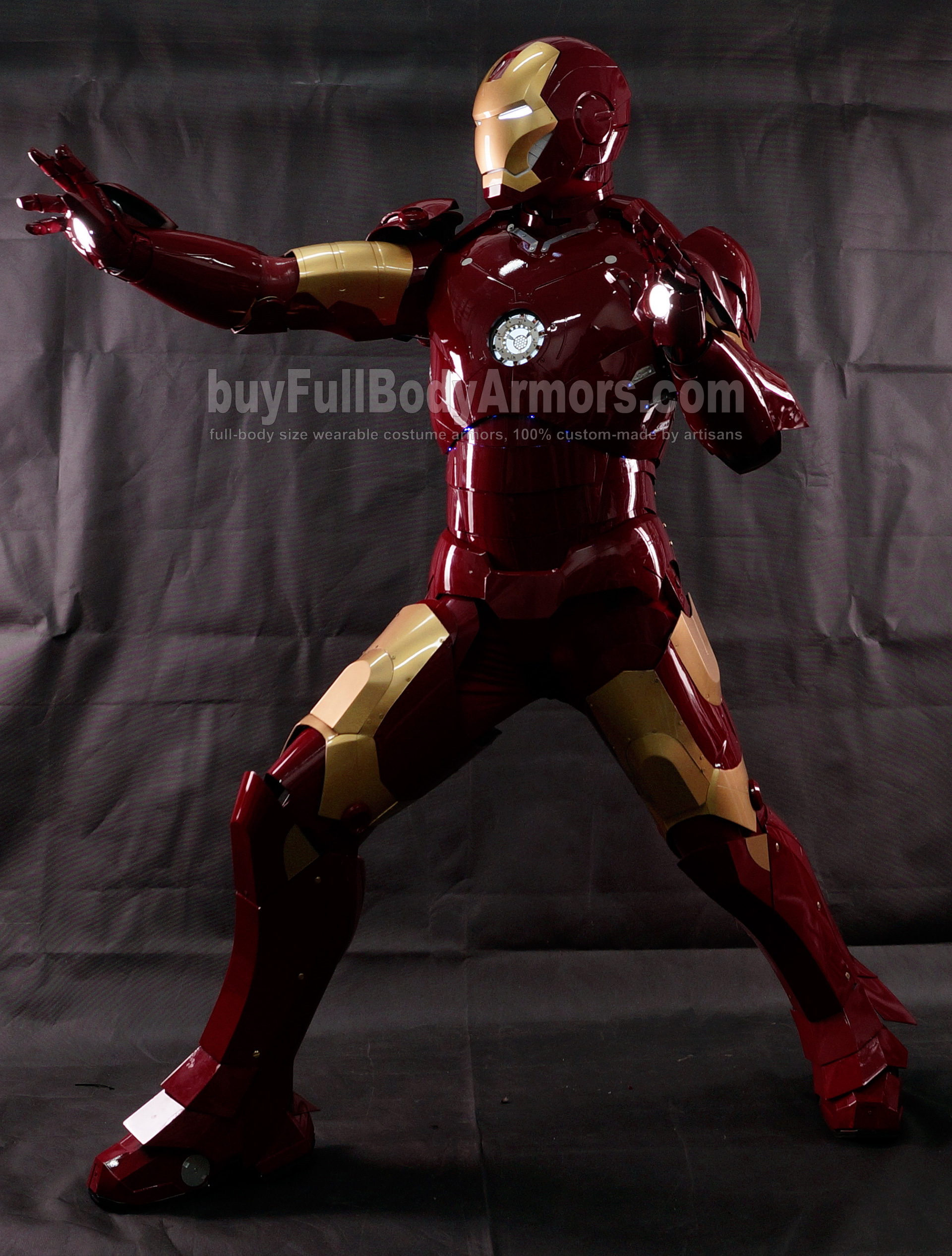 High Definition Photos of the Wearable Iron Man Mark 3 III Armor Costume Suit 4