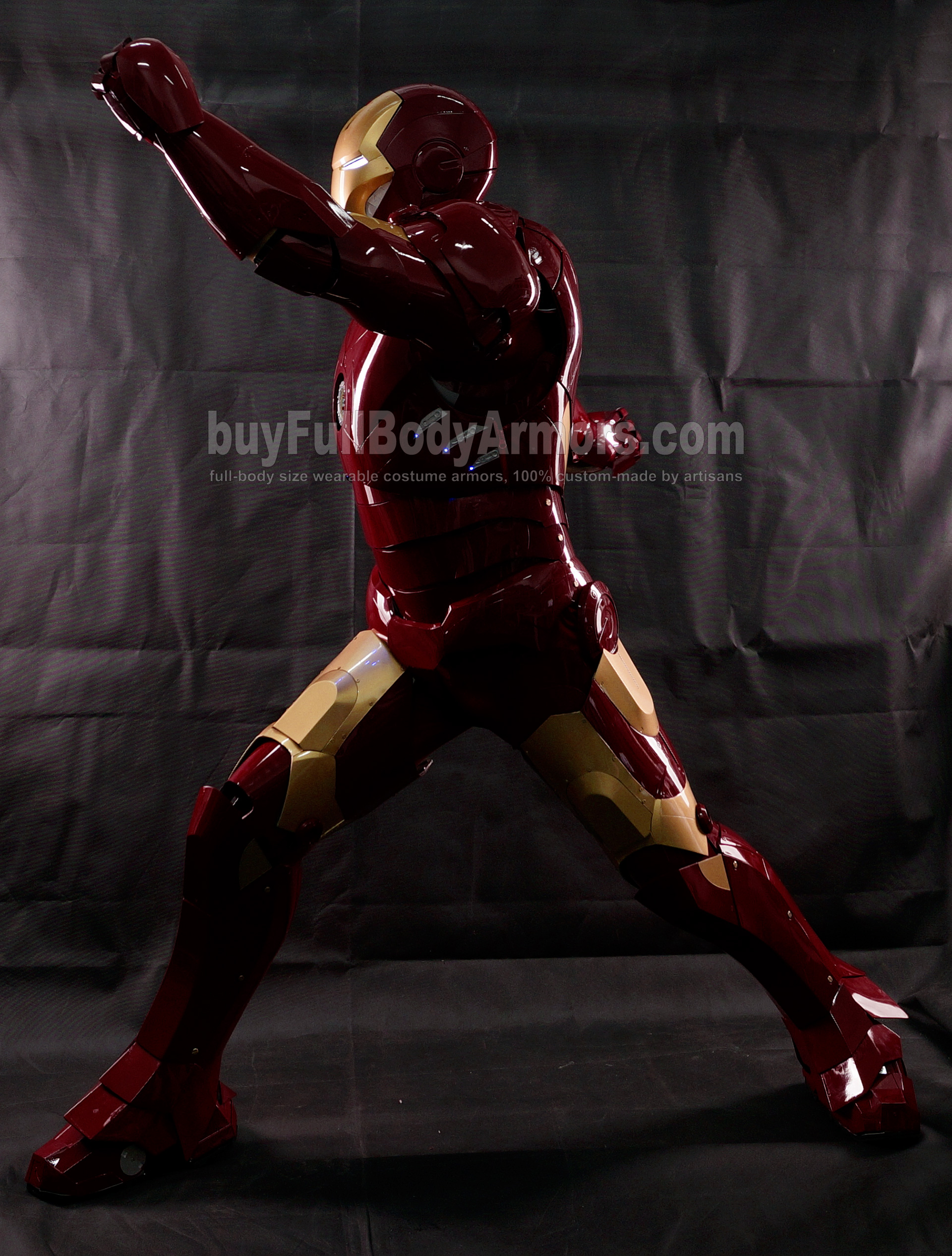 High Definition Photos of the Wearable Iron Man Mark 3 III Armor Costume Suit 5