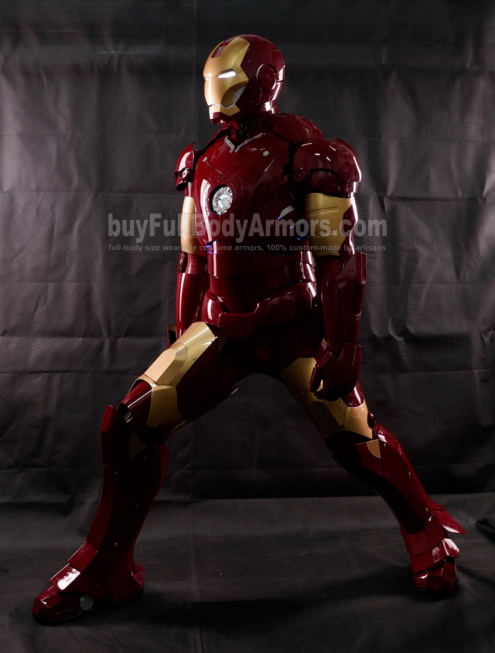 High Definition Photos of the Wearable Iron Man Mark 3 III Armor Costume Suit 6