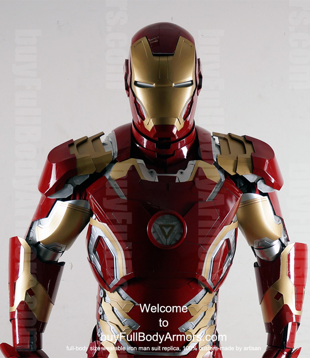 Order the Wearable Iron Man Mark 43 suit costume