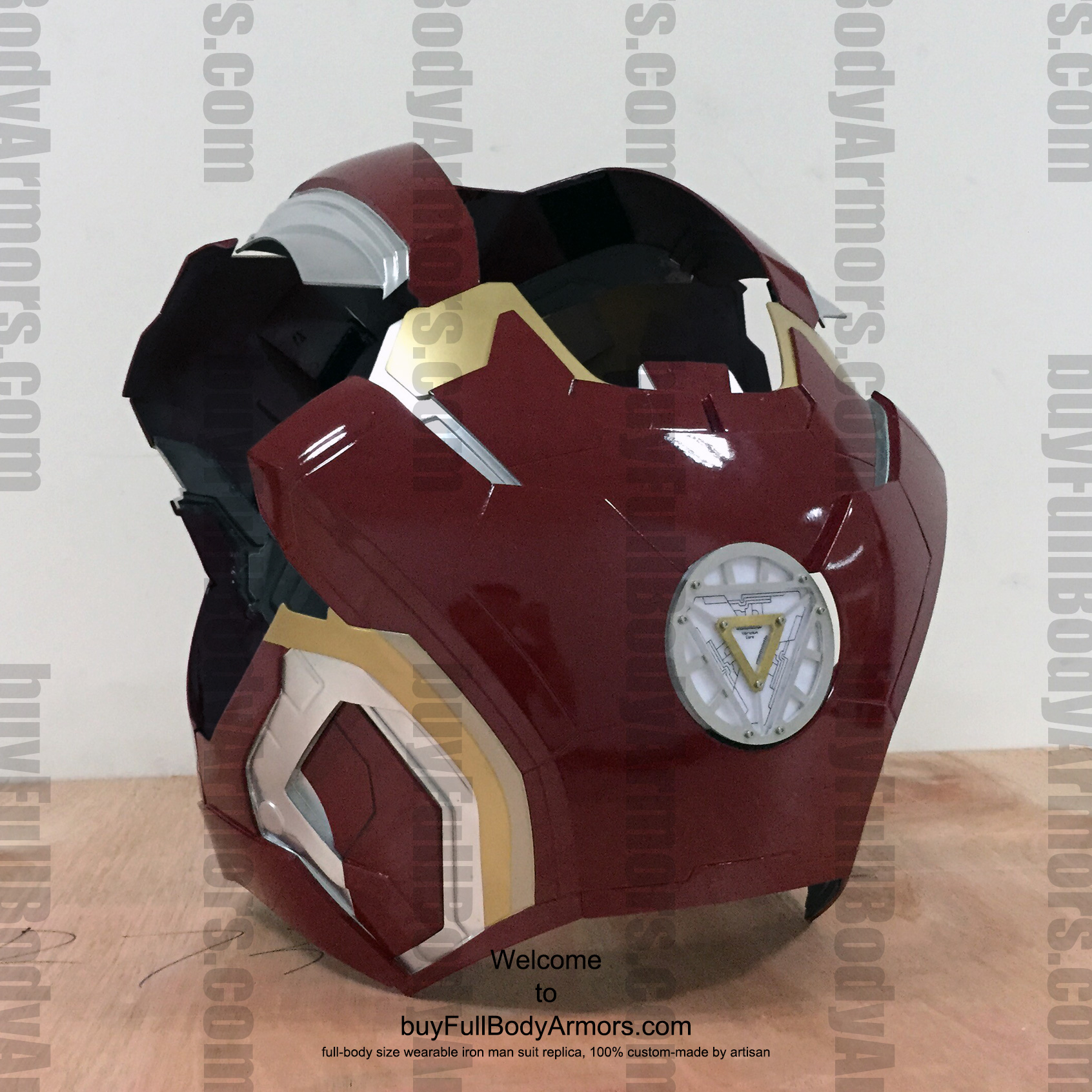 wearable Iron Man Mark 43 chest prototype 1