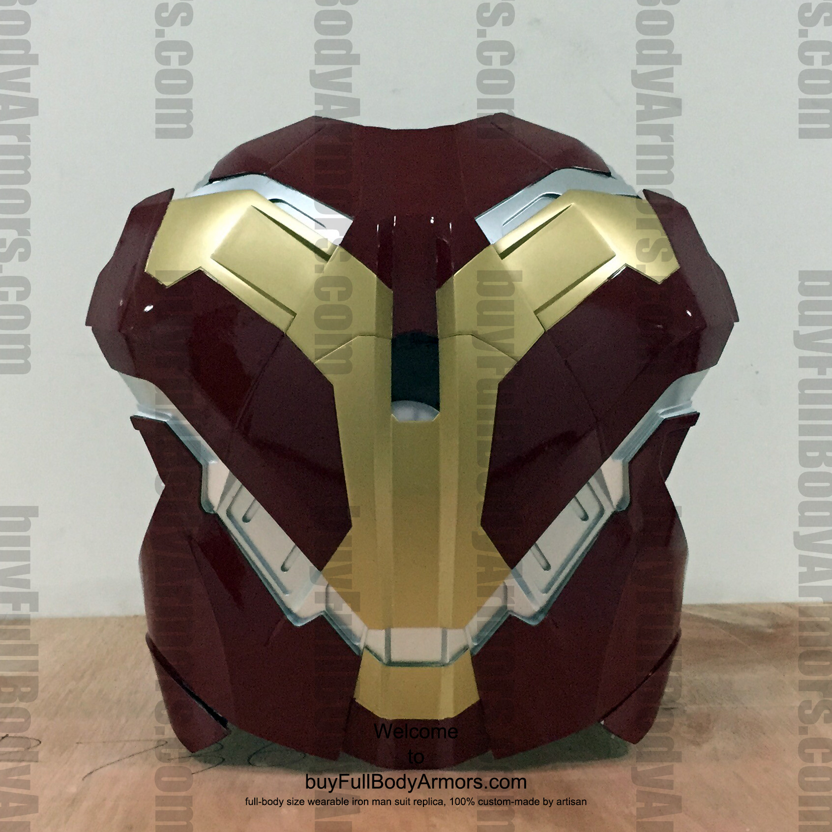 wearable Iron Man Mark 43 chest prototype 4