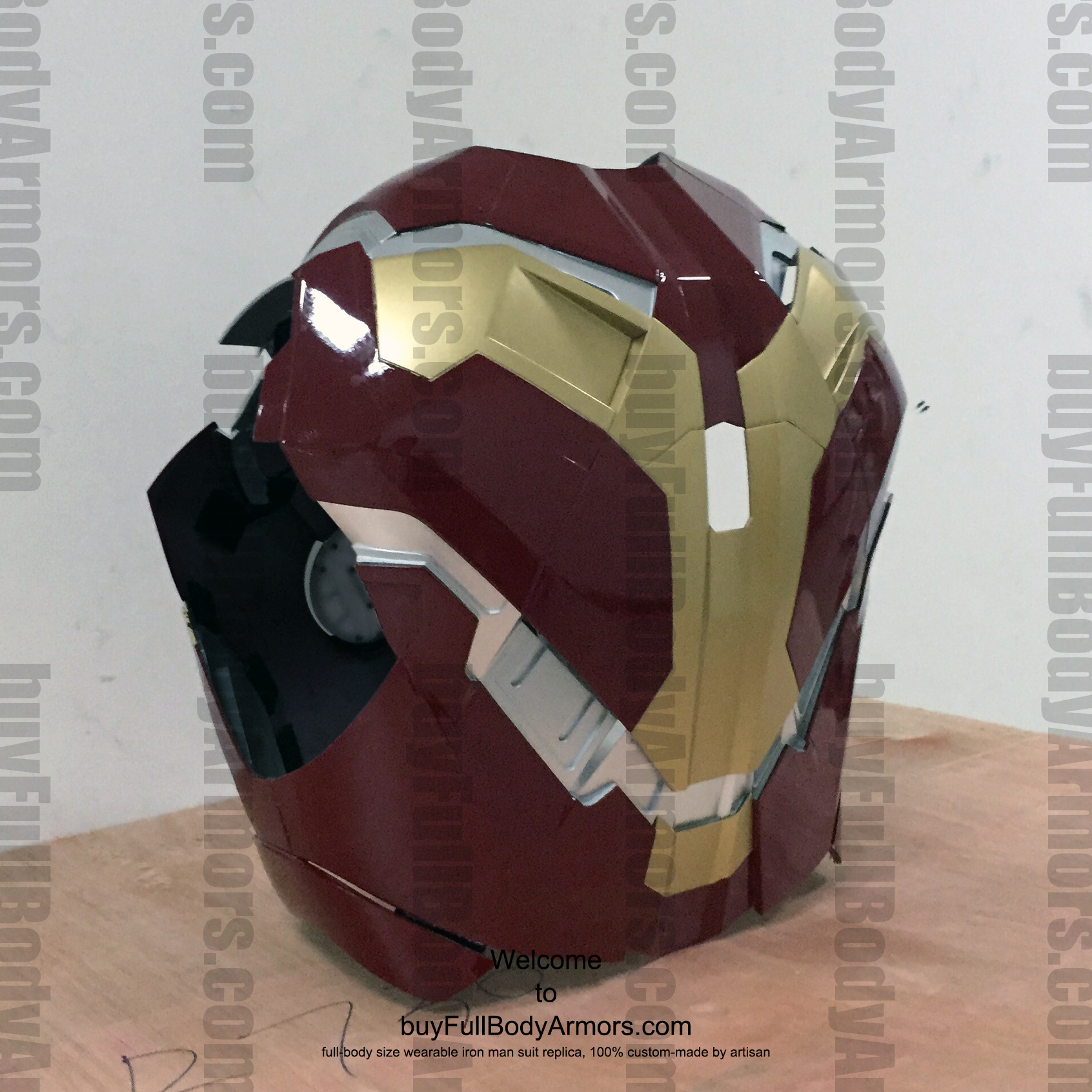 wearable Iron Man Mark 43 chest prototype 5