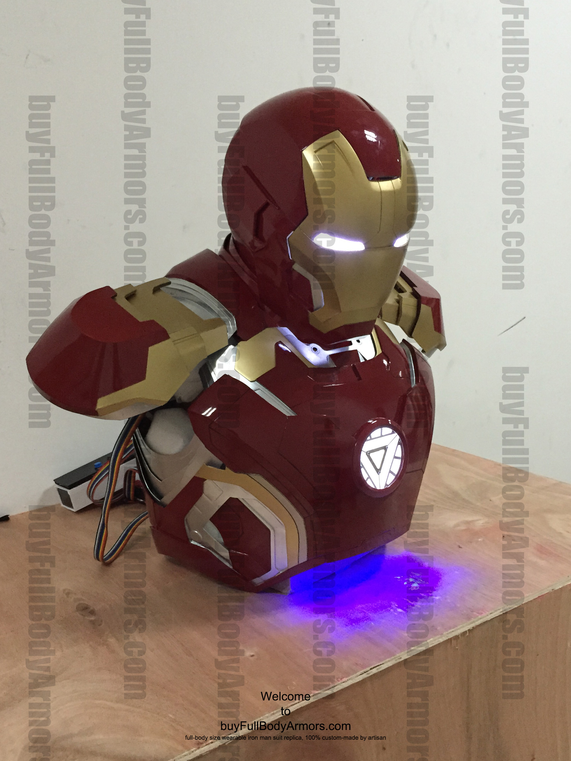 wearable Iron Man Mark 43 upper prototype 1