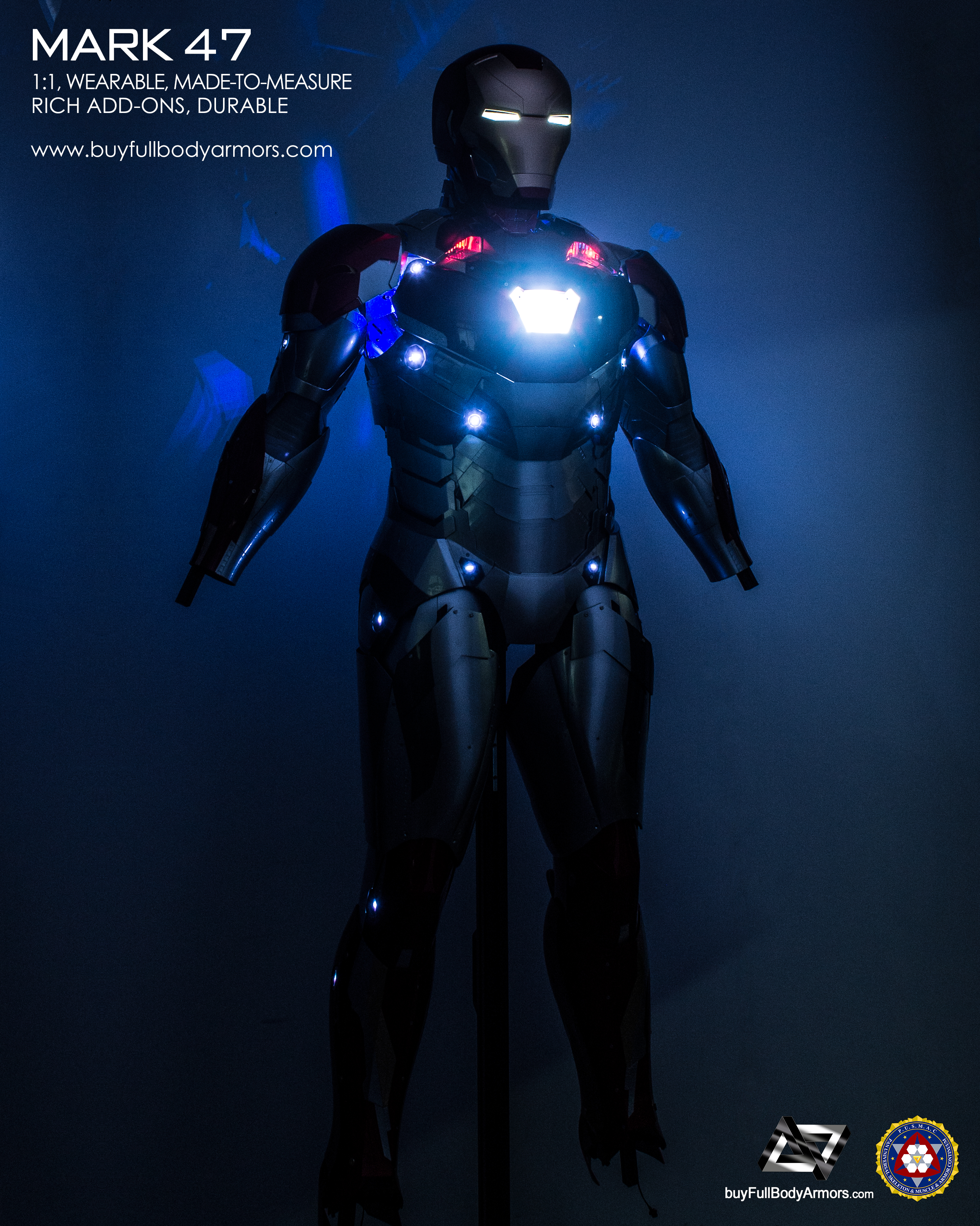 wearable_iron_man_mark_47_armor_costume_with_no_hands_shoes_dark