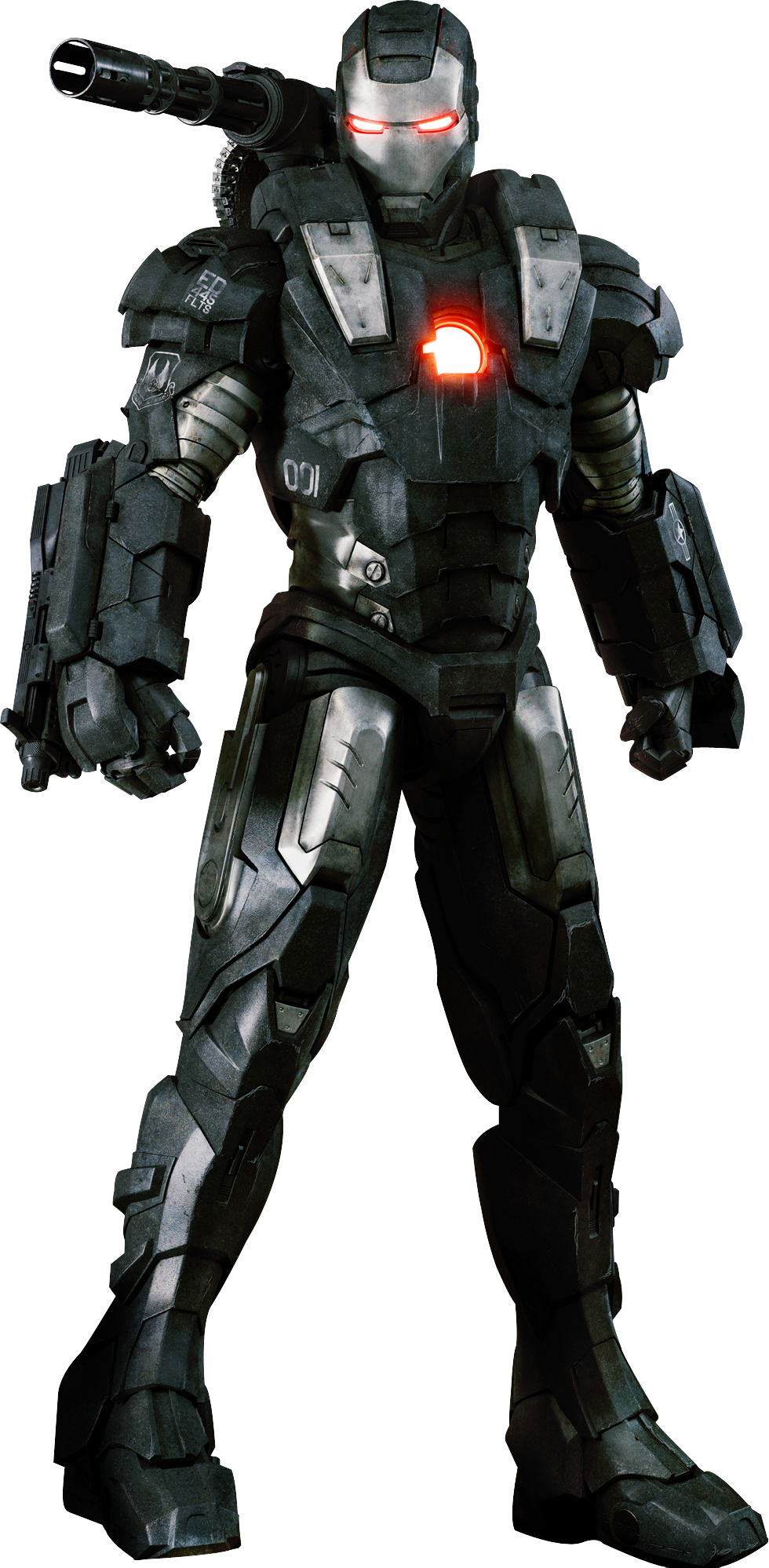 War Machine Mark I costume suit armor design