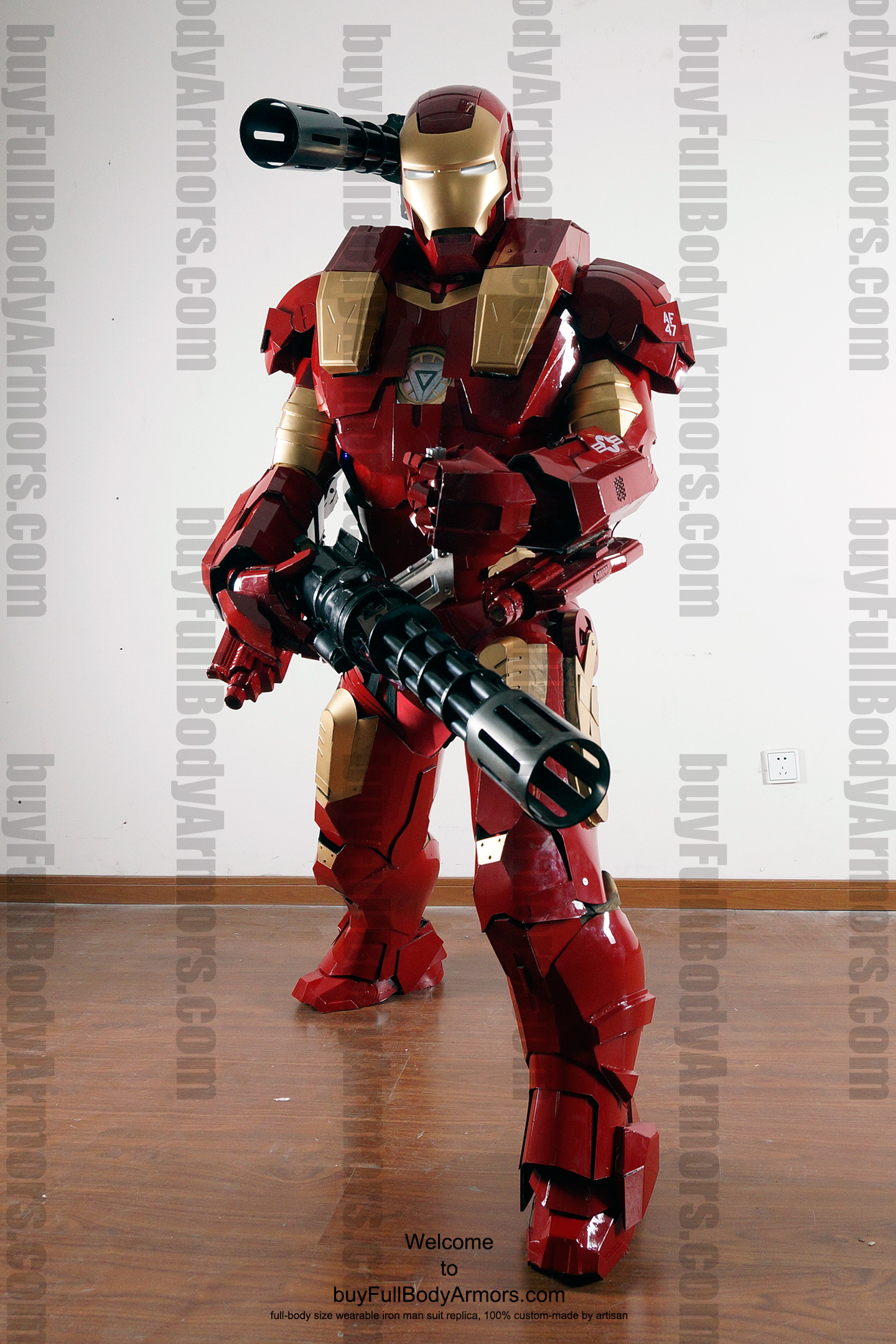 wearable War Machine Furious armor 1