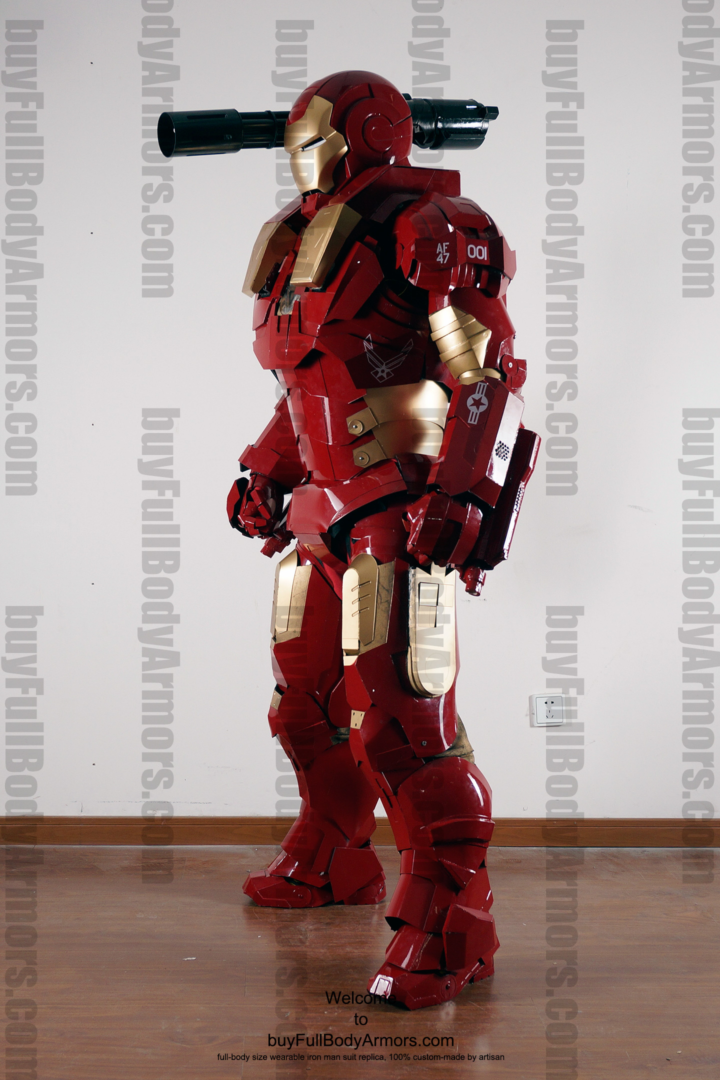 wearable War Machine Furious armor 2