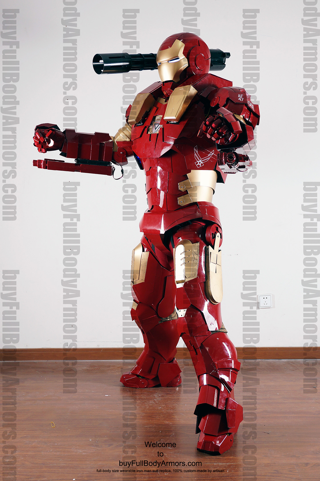wearable War Machine Furious armor 4