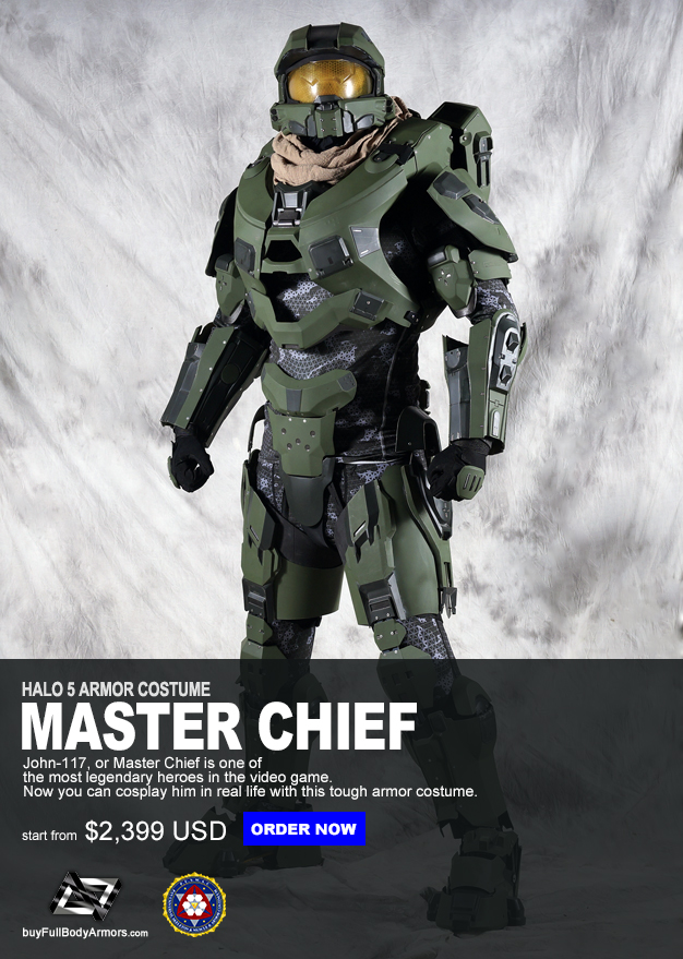 the wearable master chief armor mark vi suit costume