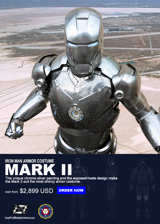 The Wearable Mark 2 (II) Armor Costume