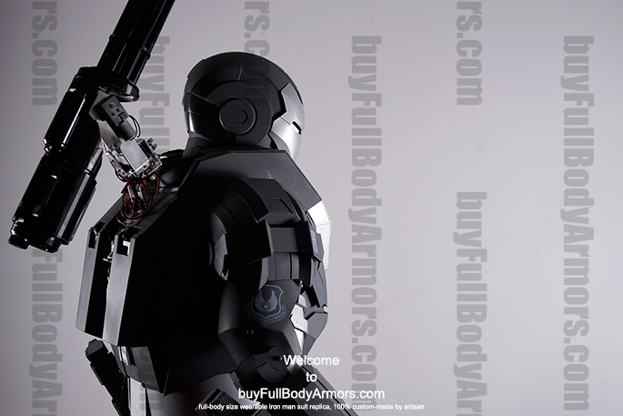 Get Ready for the War Machine Suit Costume