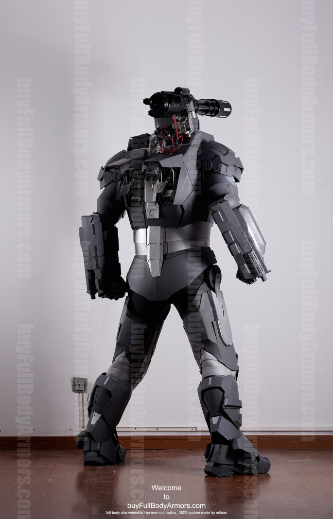 War Machine suit costume back