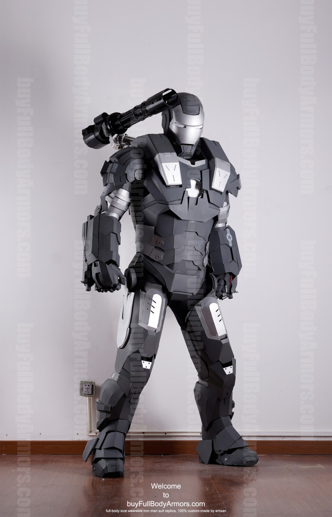 War Machine suit costume front down