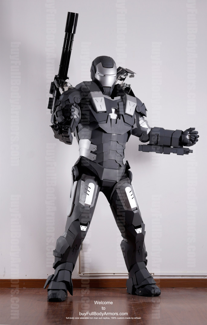 War Machine suit costume front exwife