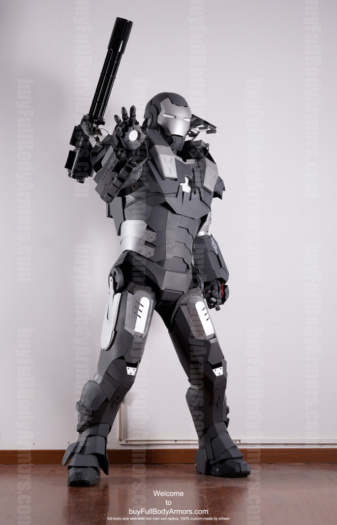 War Machine suit costume front up 2