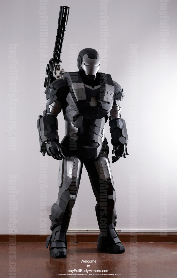 War Machine suit costume front up
