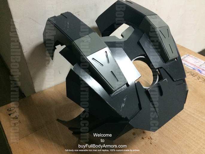 prototype of the wearable War Machine suit costume armor front chest piece