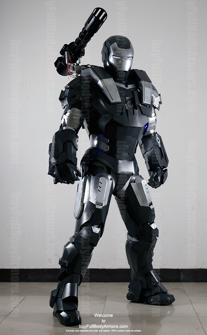 wearable War Machine suit costume front