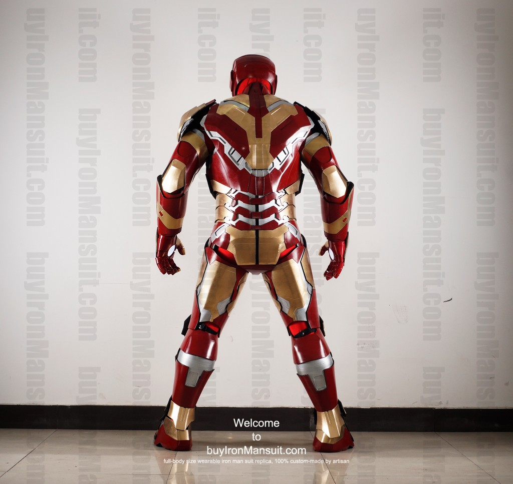 buy Iron Man suit Mark 42 back