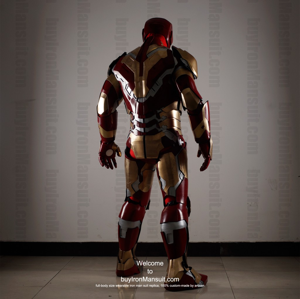 buy Iron Man suit Mark 42 back2