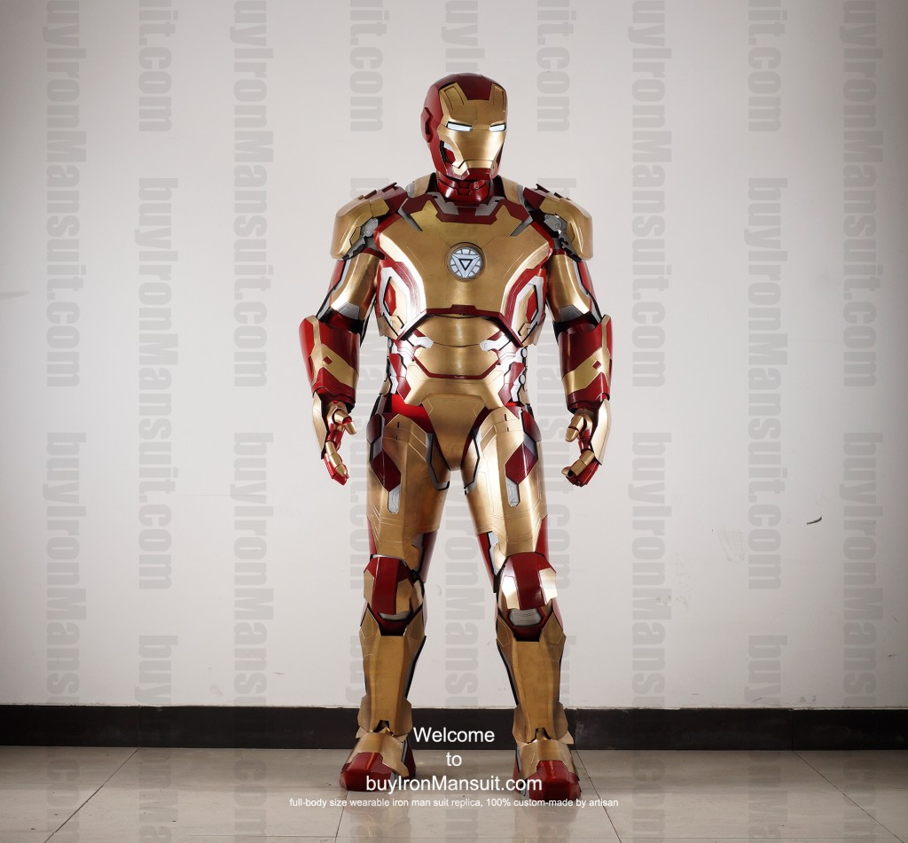 buy Iron Man suit Mark 42 front2