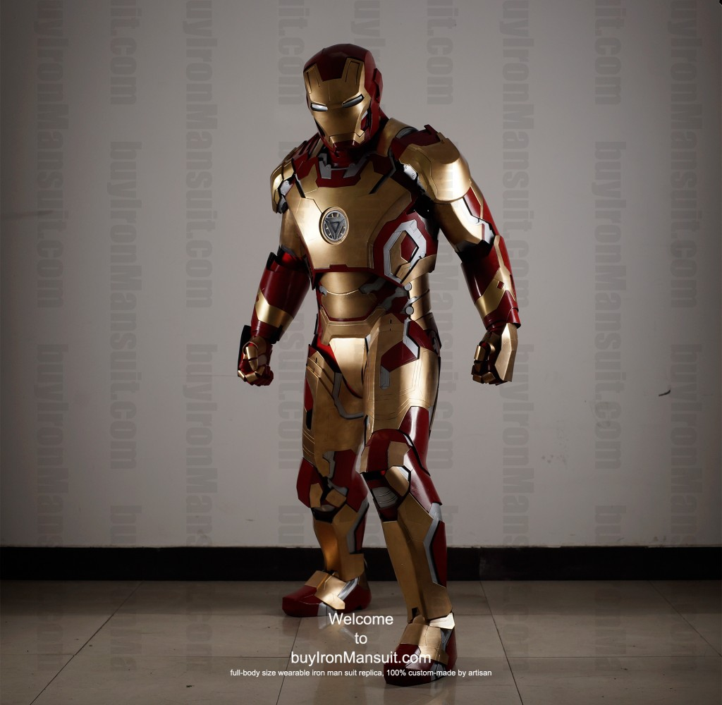 buy Iron Man suit Mark 42 front3