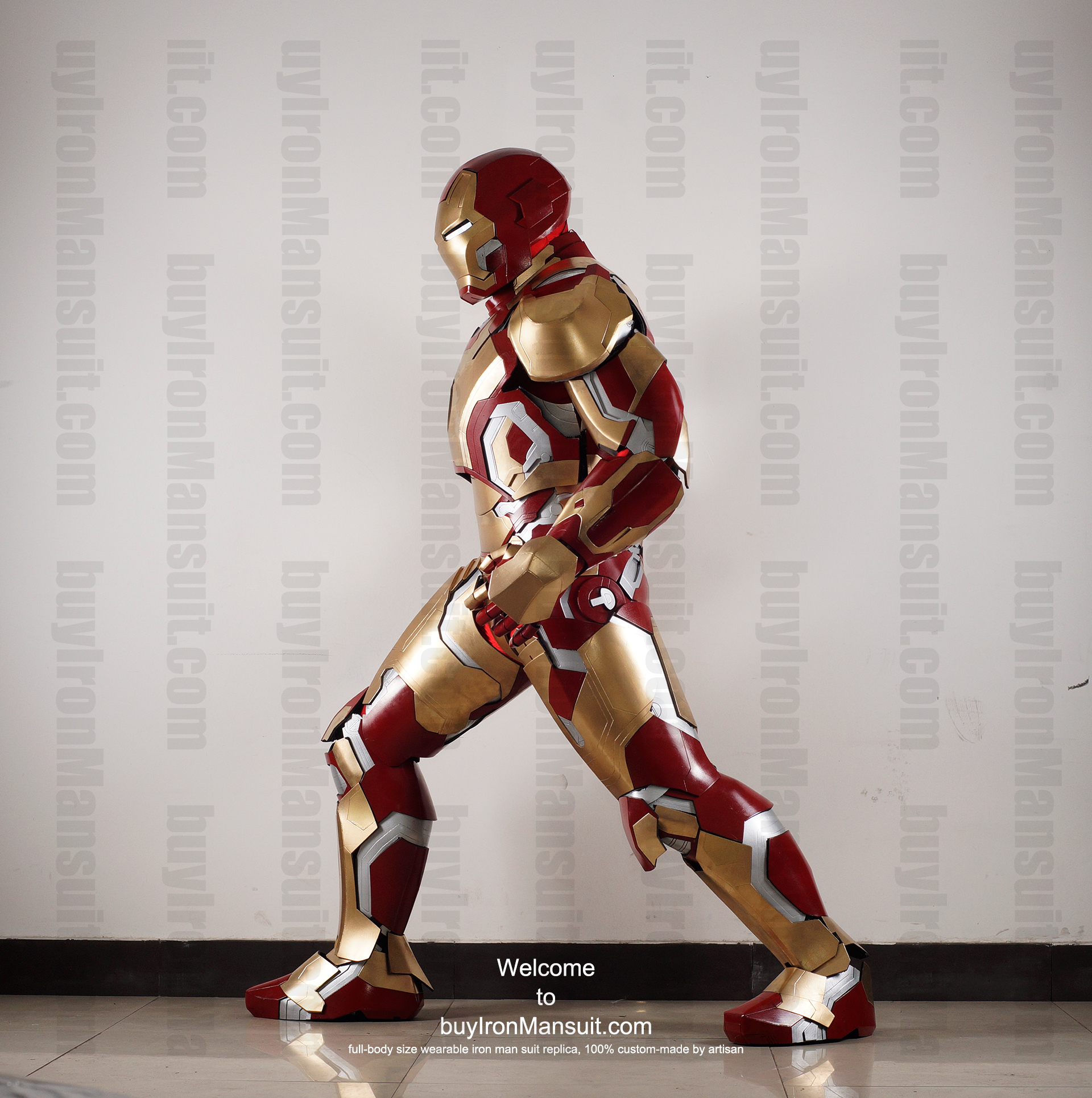 Buy Iron Man Suit Replica Buy Iron Man Suit Mark 42 Side