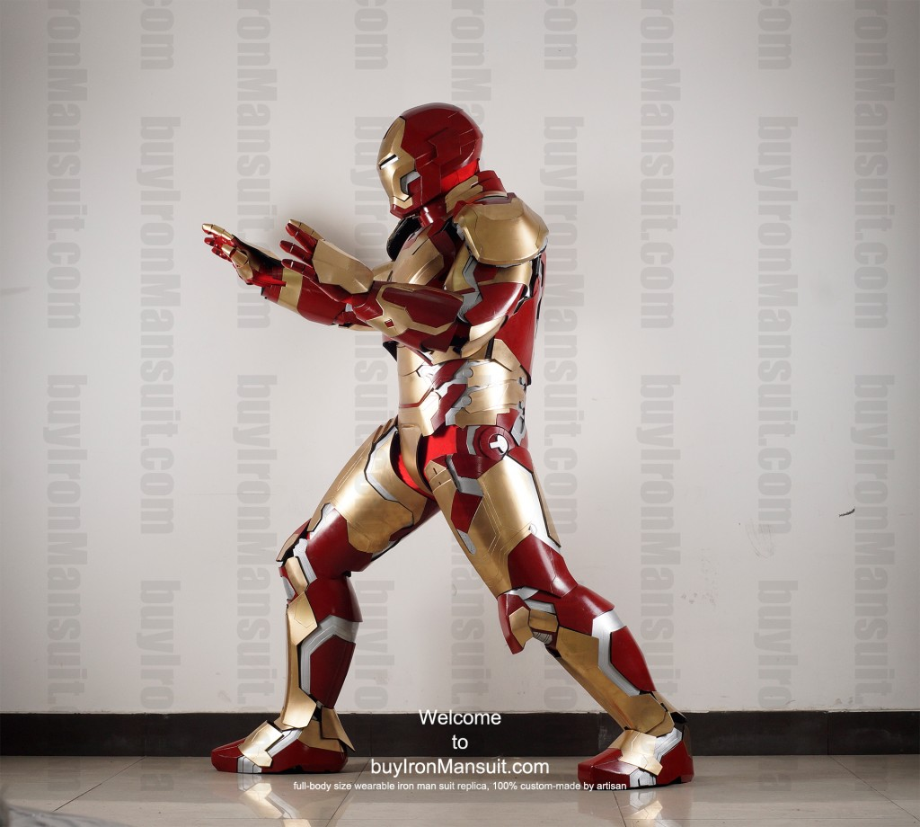 buy Iron Man suit Mark 42 side2