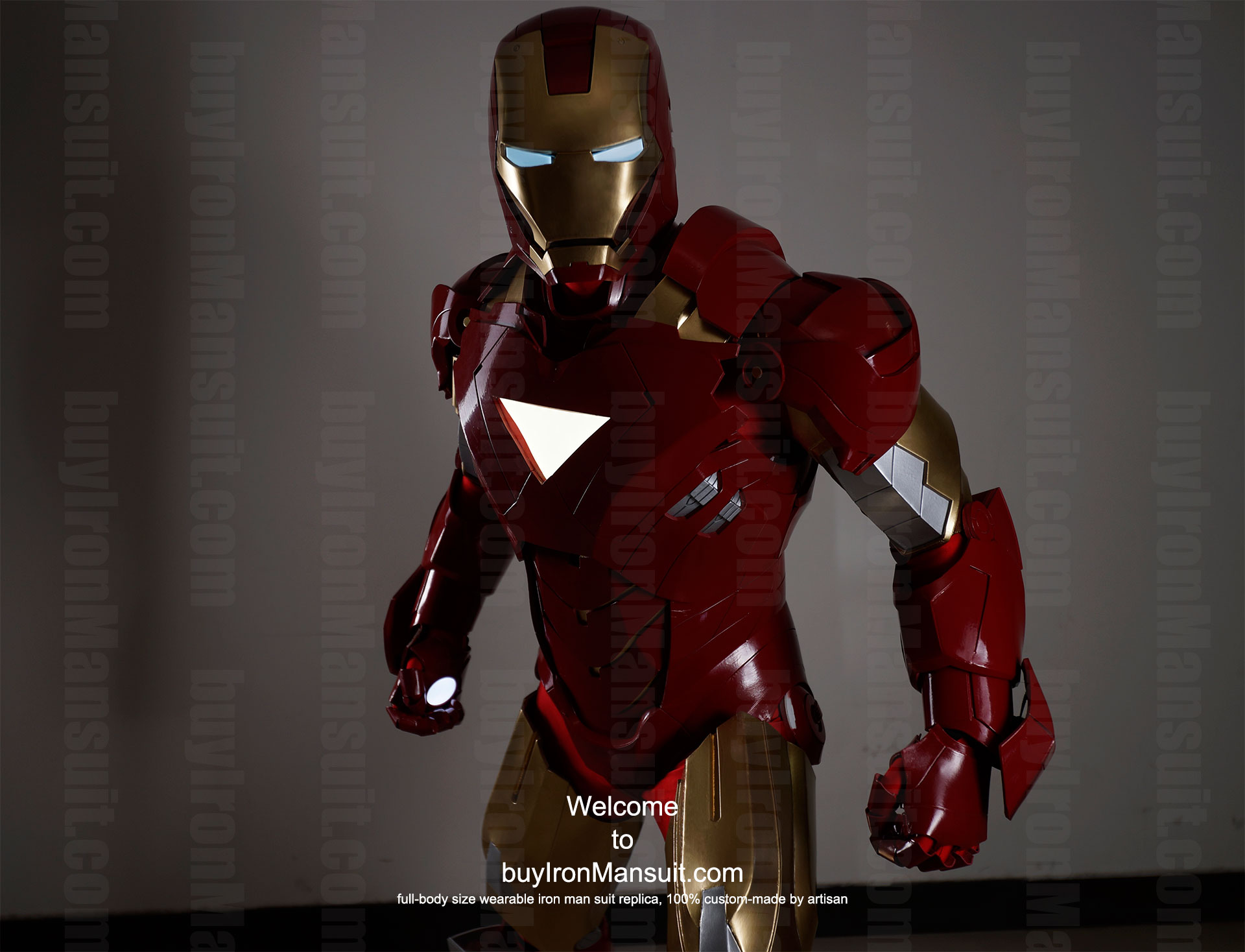 buy iron man suit Mark 6 front 3 ... & Buy Iron Man suit Halo Master Chief armor Batman costume Star ...