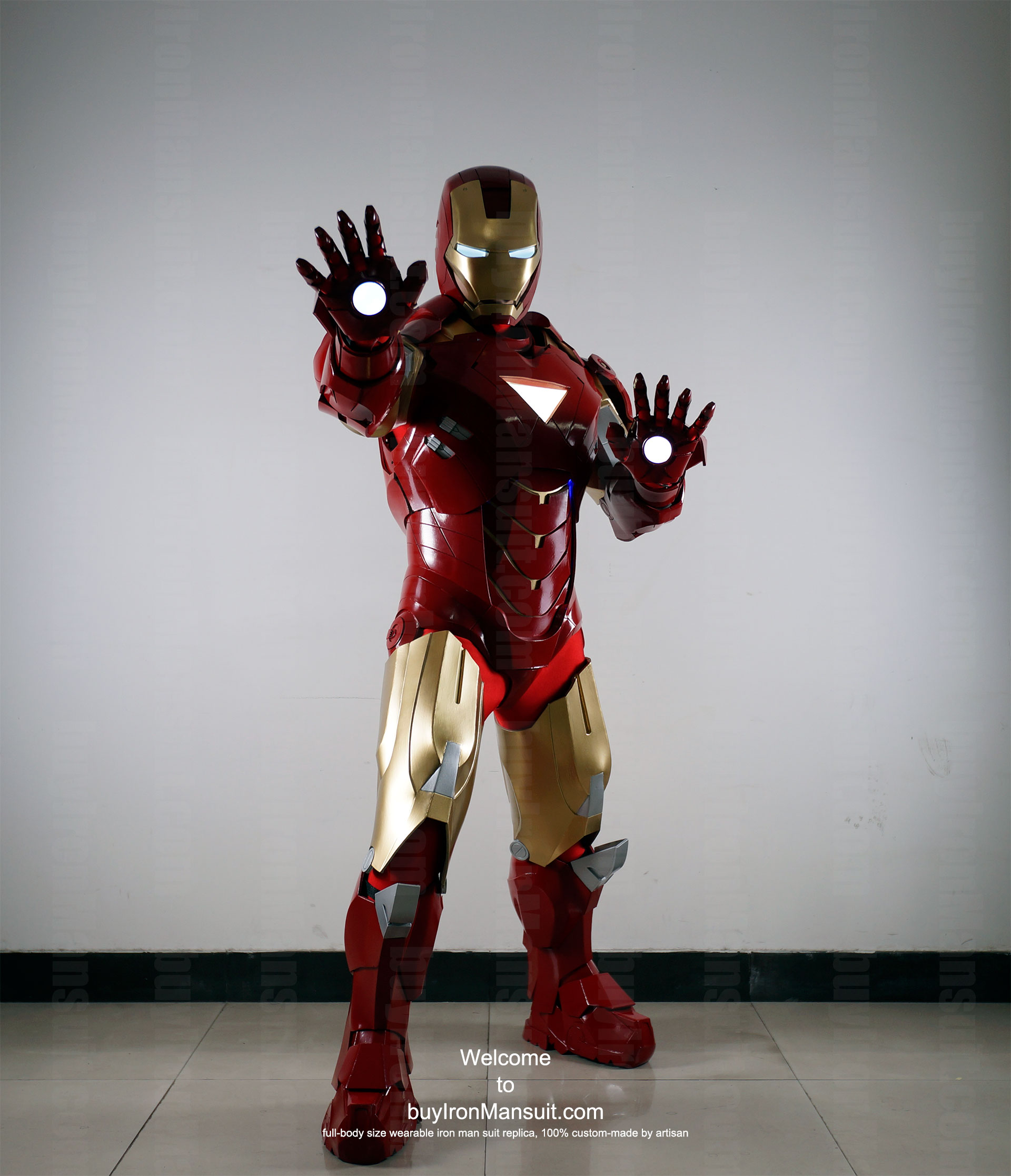 Buy Iron Man Suit Replica Buy Iron Man Suit Mark 6 Front