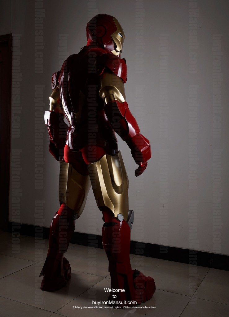 buy iron man suit Mark 6 back 3