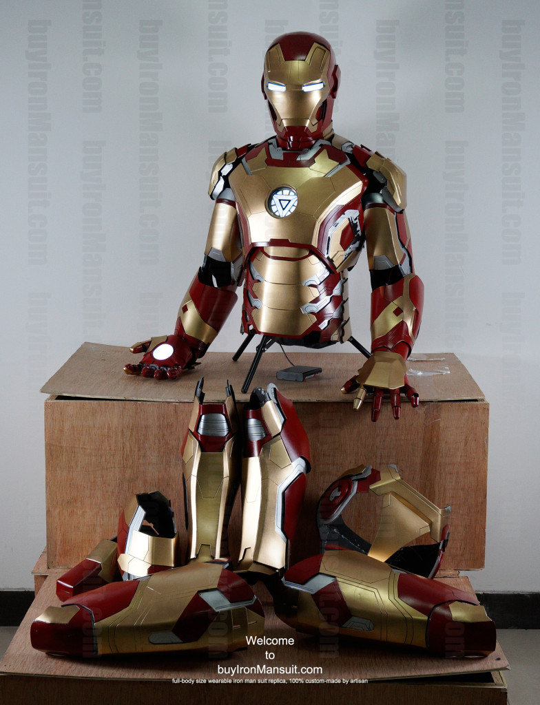 Iron Man suit Mark42 full parts prototype
