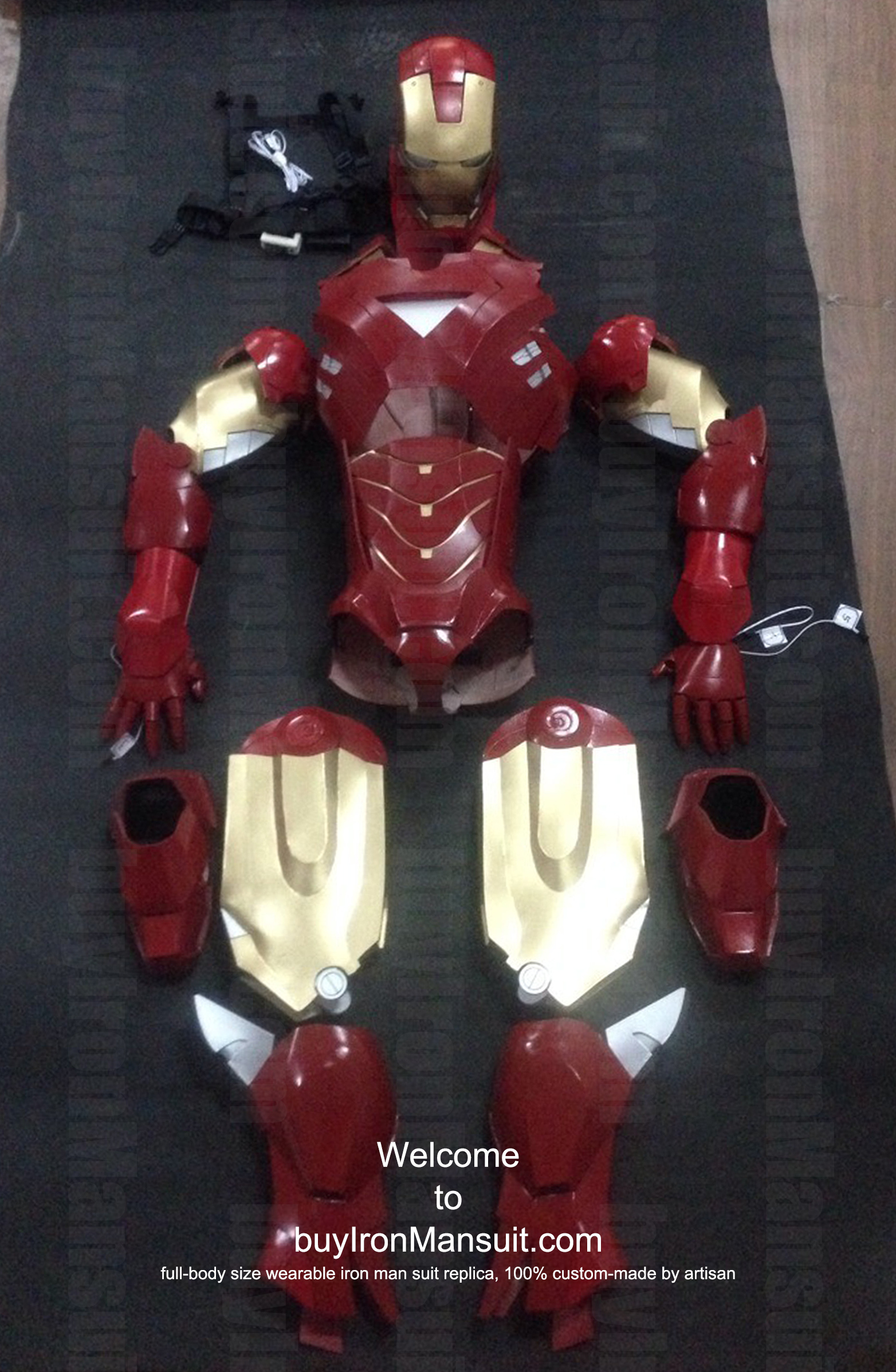 Iron Man Suit Cosplay Iron Man Costume Suit Mark