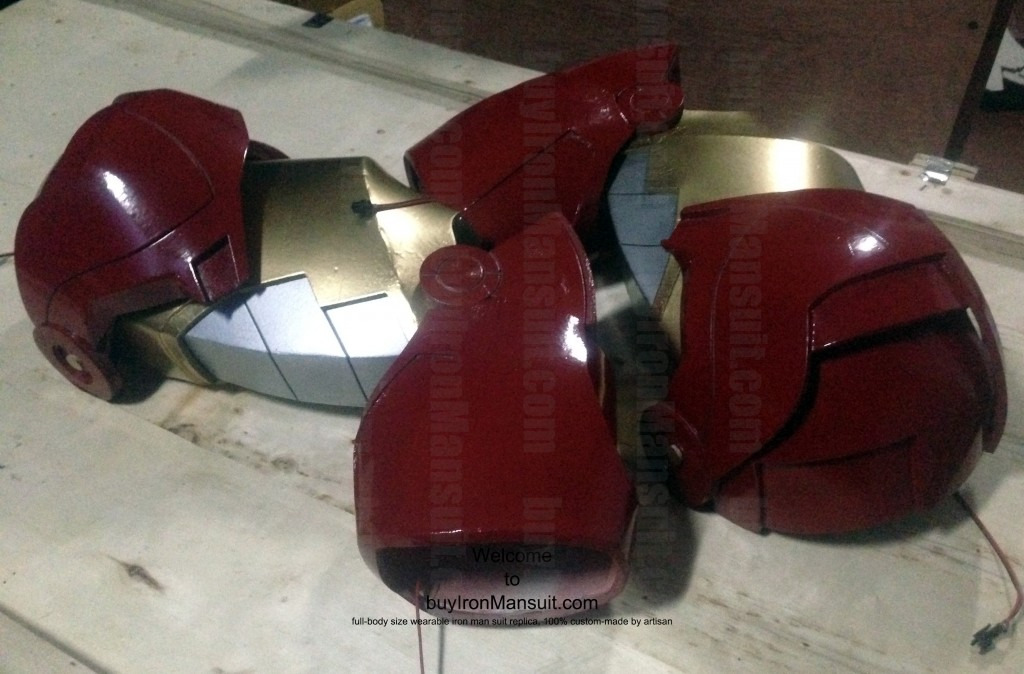 IronMan Mark VI Costume Shoulder & Arm Armors