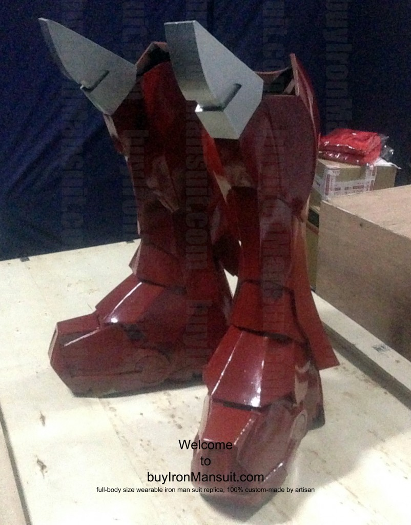 IronMan Mark VI Costume Leg Armors