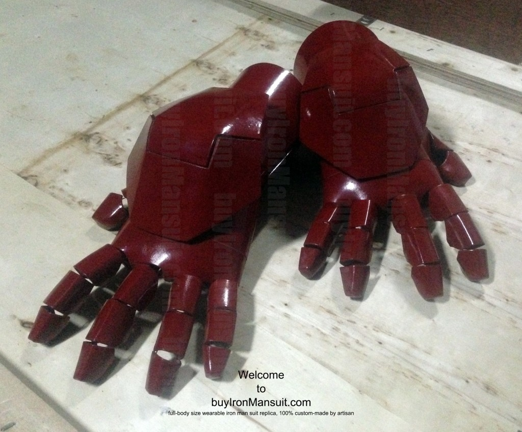 IronMan Mark VI Costume Hand Back Armors