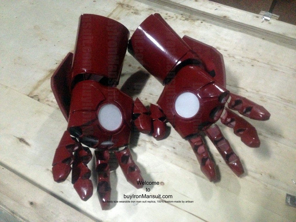 IronMan Mark VI Costume Hand Palm Armors