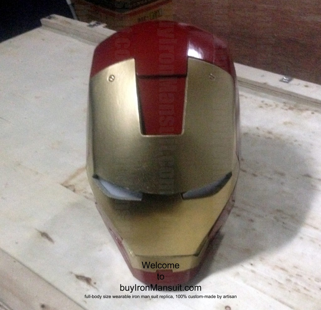 IronMan Mark VI Costume Helmet Front Armors