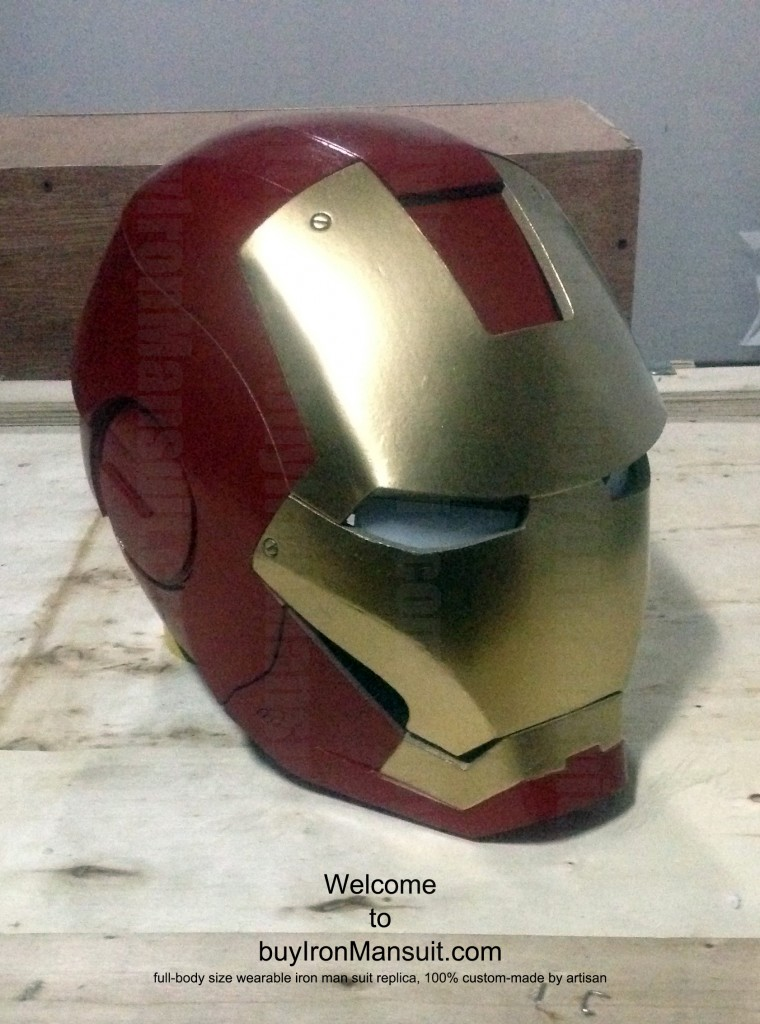 IronMan Mark VI Costume Helmet Right Armors