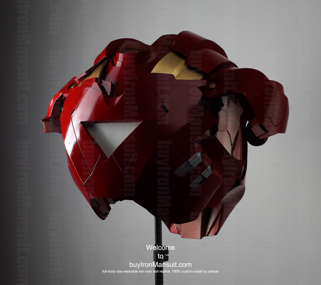 Real Iron Man suit chest photo