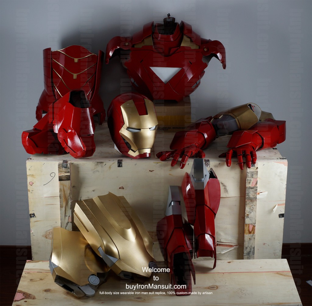 Real Iron Man suit full parts photo
