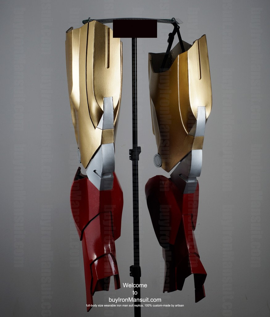 Real Iron Man suit leg photo