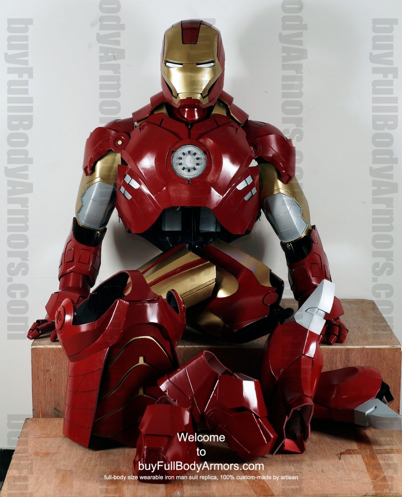 buy Iron Man costume suit Mark4 full